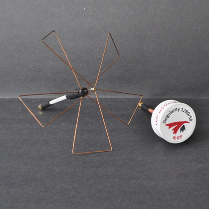 Next to 1.3GHz Fan antenna