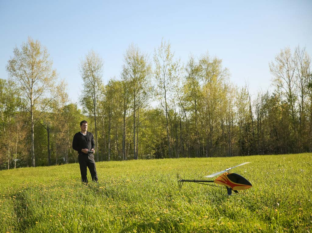 TrueRC - Hugo Chamberland & drone